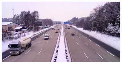 Is hitchhiking illegal? Walking and standing directly on motorways and express roads is not allowed in many countries.